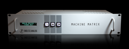 MACHINE MATRIX front